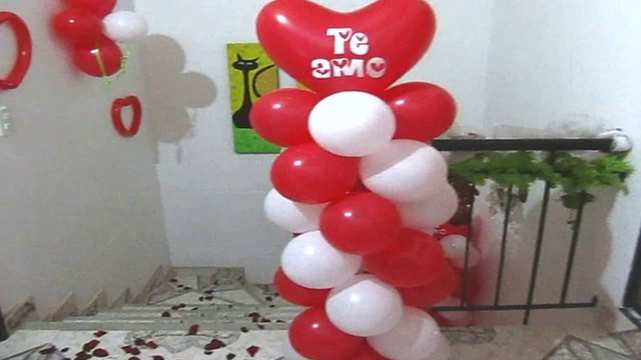 Decoracion amor y amistad 2016 youtube for Decoracion de cuartos 14 de febrero
