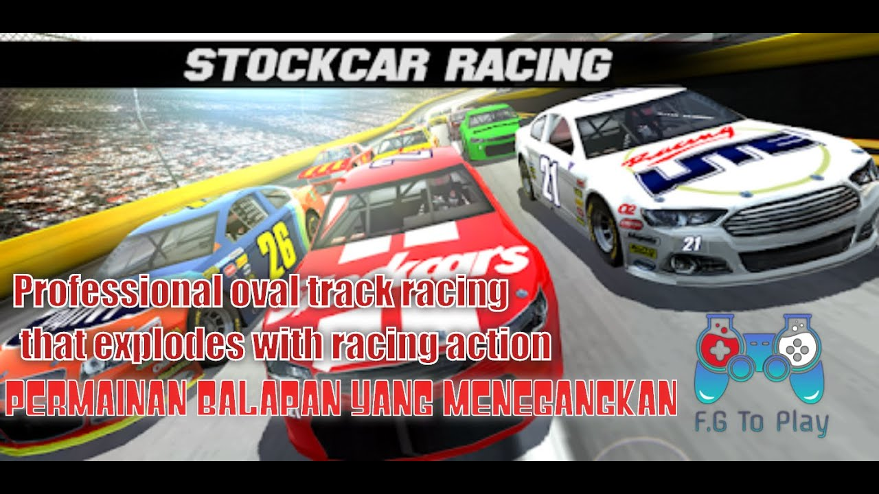 Stock Car Racing Android Racing Game video - Free Car Games To Play ...