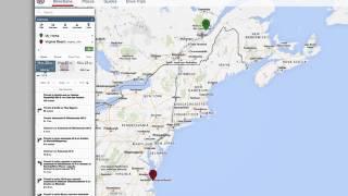TripTik Travel Planner   Use Route Alternatives