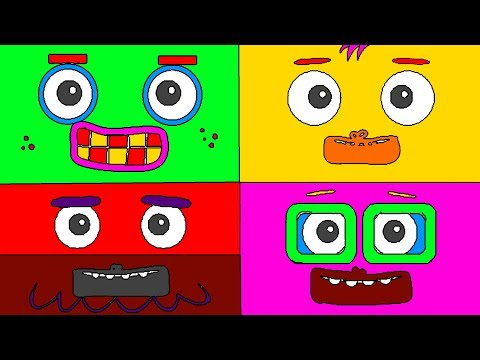 Big Block Sing Song Apes Coloring Book For Toddlers - The Color Song - Puzzle Kid from YouTube · Duration:  3 minutes 5 seconds