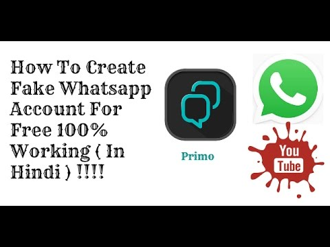 Whatsapp fake account erstellen  how to Create any country number