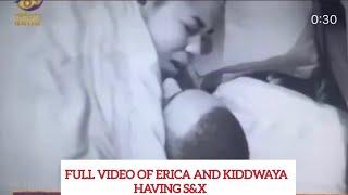 BBNAIJA UPDATES | FULL VIDEO OF ERICA AND KIDDWAYA HAVING S&X LAST NIGHT| VIRAL VIDEO