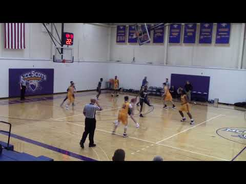 Lancers Men's Basketball   Game 23 Vs. McHenry County    17-18 Season