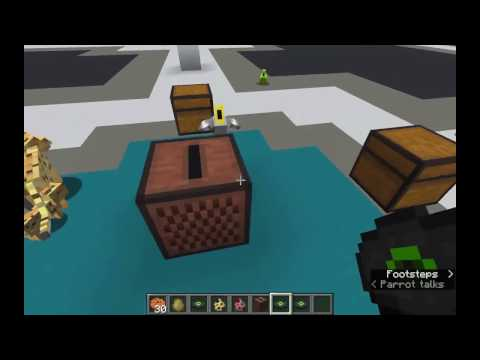 Dancing Parrots!! Minecraft Parrot Facts