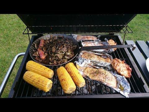 Tepro Toronto Holzkohlegrill Aufbau : Tepro toronto barbecue in action bbq test grill holzkohlegrill im