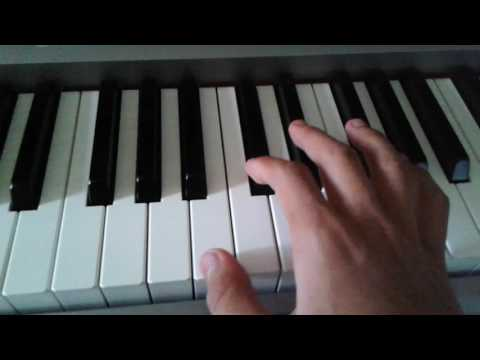 New + Old GMM ( Good Mythtical Morning ) intro tutorial piano