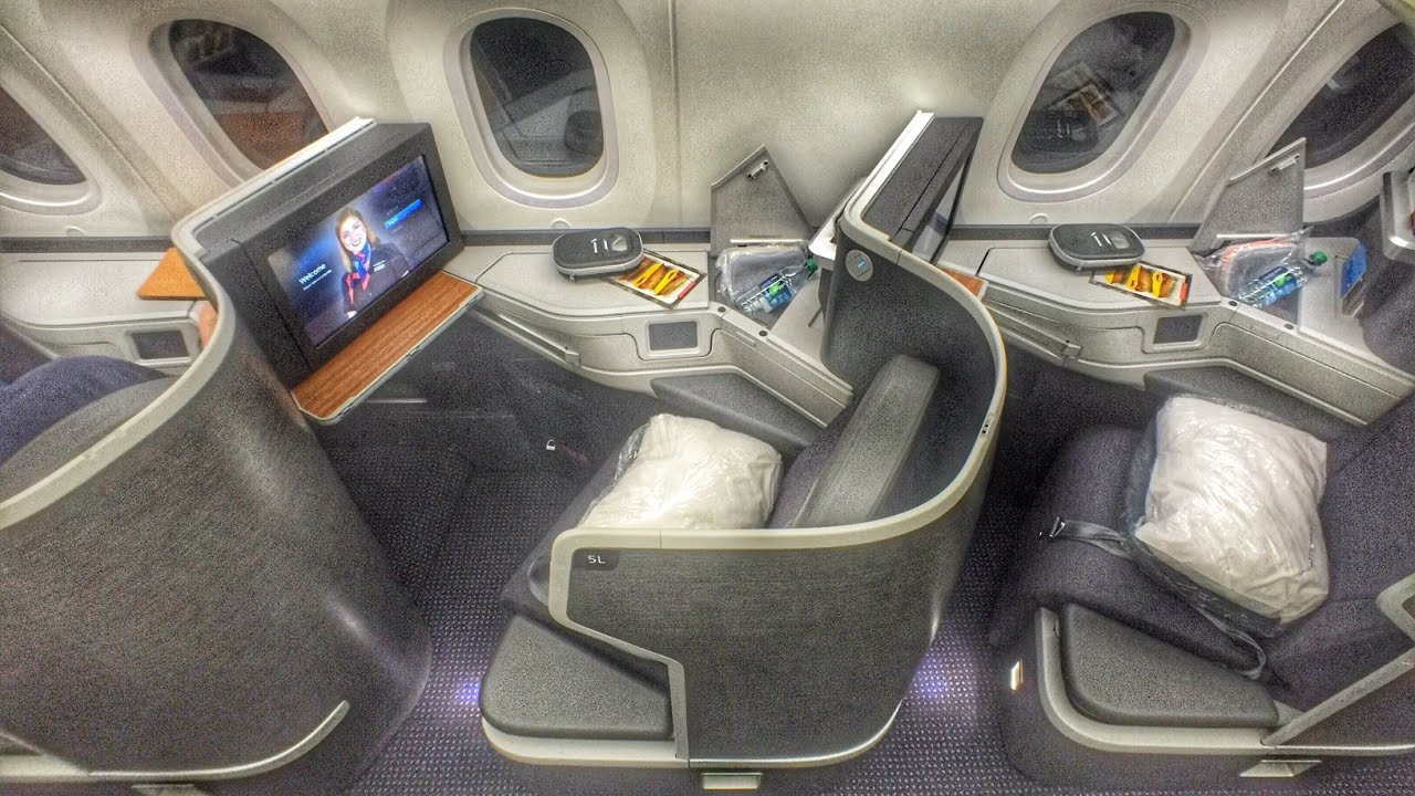 American Airlines NEW 787 9 Business Class