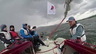 Pierwsza wywrotka 2020 jezioro Żywieckie