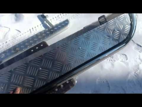 Пороги с Алюминиевым листом на любой авто