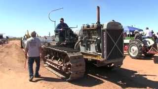 1929 Caterpillar Sixty Full-Pulling The Sled