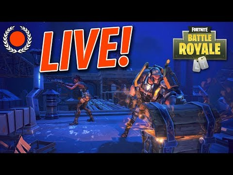 """FORTNITE POWER!"" - FORTNITE: BATTLE ROYALE - Livestream!"
