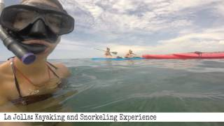 La Jolla:  Kayaking and Snorkeling (60 second review)