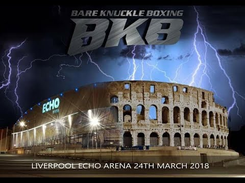 SWEENEY VS LANE REMATCH WORLD BKB MIDDLEWEIGHT TITLE BKB10 BARE KNUCKLE BOXING ECHO ARENA