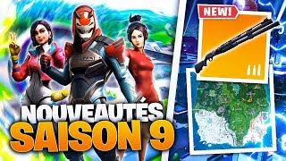 SAISON COMBAT PASSE DELON 9 ON FORTNITE BATTLE ROYALE !!!
