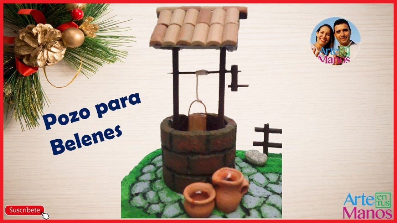 Belenes Para Hacer Manualidades.Porexpan Well For Nativity Scenes Or Cribs Step By Step