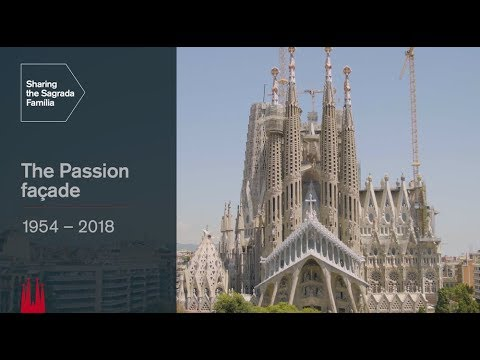 The Passion façade: key moments in its history