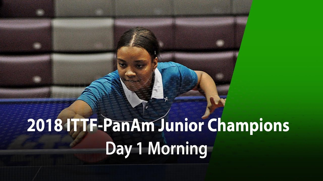 2018 Panam Junior Championships Day 1  Morning Session