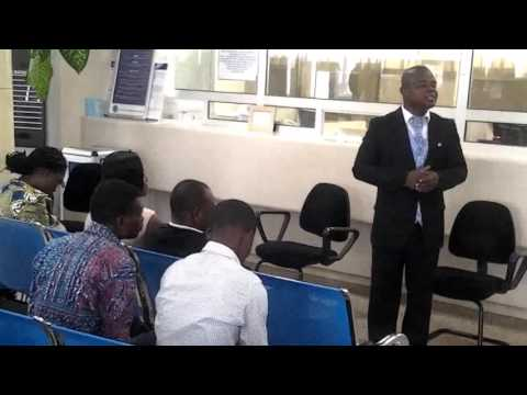Health Education At National Investment Bank, Sunyani, Ghana
