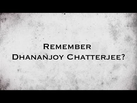 Dhananjoy - The Movie | Remember Dhananjoy Chatterjee ? | Public Reaction | Arindam Sil | SVF