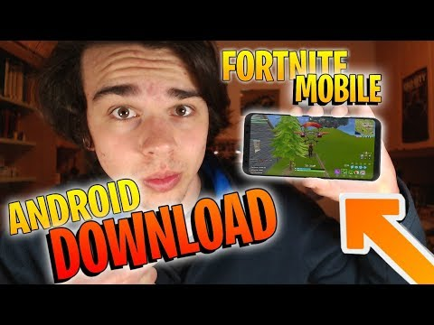 Come scaricare FORTNITE su ANDROID 100% FUNZIONANTE - Fortnite battle royale