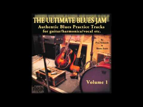 Slow Blues in A Backing Track for Guitar & Harmonica jamming  - Ultimate Jam Tracks