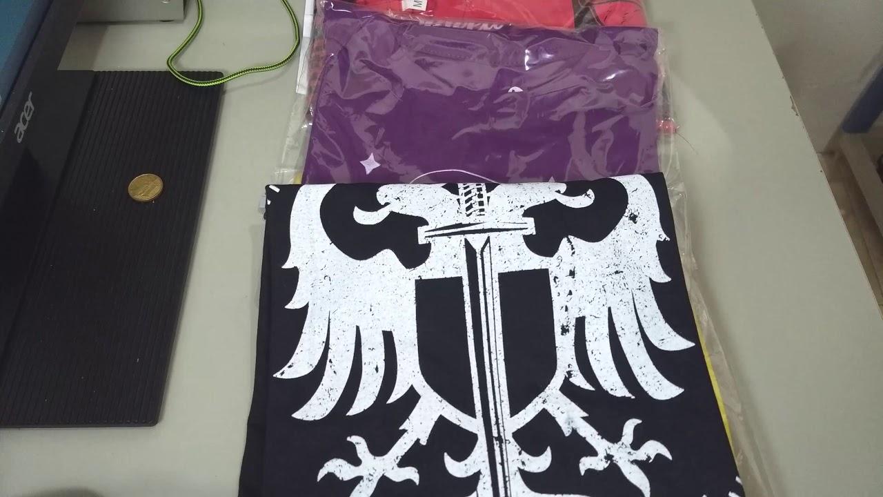 c38943427c Camisas Bleed American Promoção Kanui 5 por 99 Reais - YouTube