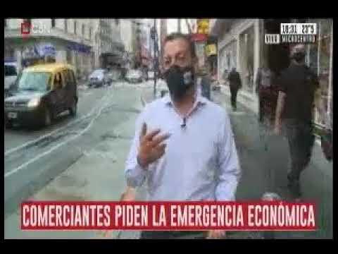 C5N - Crisis económica en el micro y macro centro porteño