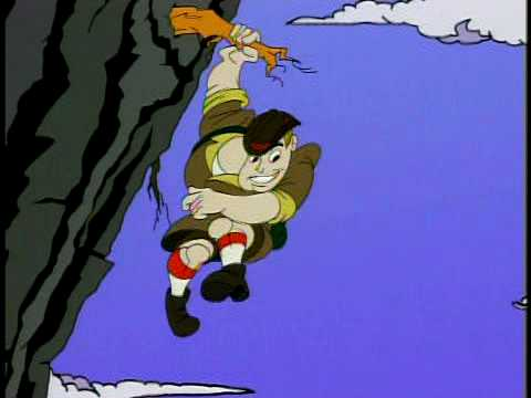 Between the Lions:  Cliff Hanger and the Bed