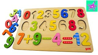 Learn Wooden Numbers For Toddlers | Counting For Kids