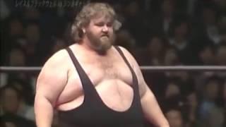 AJPW - Harley Race & Crusher Blackwell vs One Man Gang & Tiger Jeet Singh
