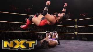"Isaiah ""Swerve"" Scott vs. Bronson Reed: WWE NXT, Nov. 13, 2019"