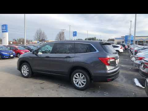 2019 Honda Pilot LX Modern Steel Metallic Video For Steve From Laz At AutoFair Honda