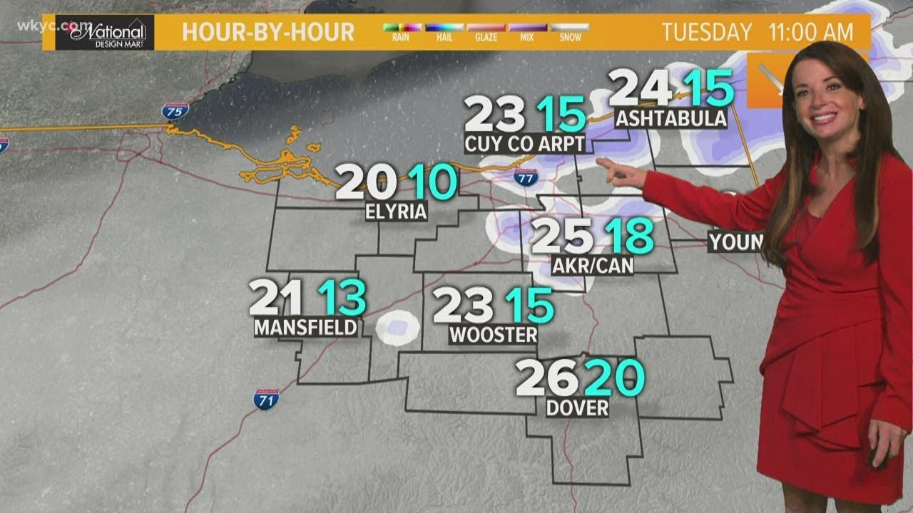 Snow chances end, but frigid temperatures remain: Northeast Ohio's ...