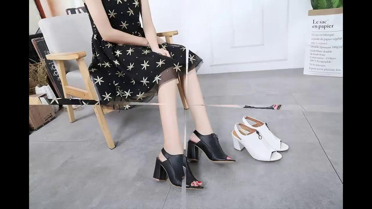 Model Sepatu Sandal Hak Tinggi Wedges Wanita Terbaru STYLIST DAN