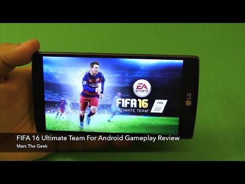 FIFA 16 Ultimate Team For Android Gameplay Review