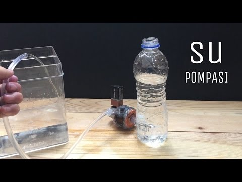 Ev Yapımı Su Pompası Nasıl Yapılır ? (Basit)