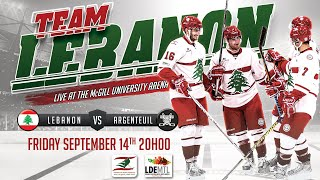 Lebanon Hockey Teaser of the September 14th LDE Event