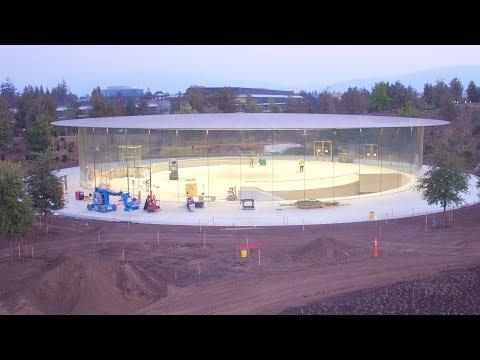 APPLE PARK: Late August 2017 Construction Update