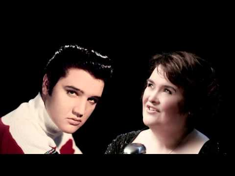 Elvis Presley & Susan Boyle - o come all ye faithful 2013