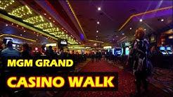 Walking through the MGM Grand Hotel & Casino in Las Vegas - Nov 2016 - 4K HD