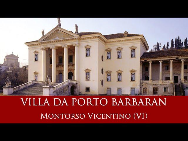 Villa Da Porto Barbaran - Montorso Vicentino