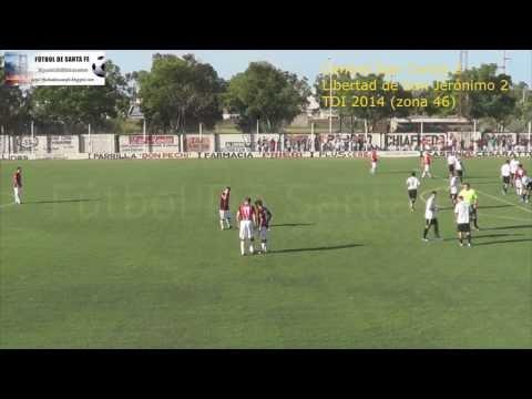 Central San Carlos 2 -  Libertad San Jerónimo 2 (Gol Ceballos en contra 1 a 0 Libertad)