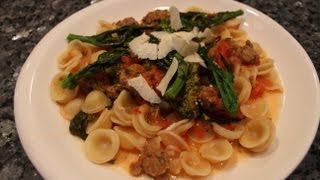 Pasta With Broccoli Rabe Sausage And Fresh Tomatoes