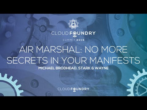Air Marshal: No More Secrets In Your Manifests - Michael Brodhead, Stark & Wayne