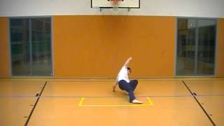 Capoeira VIP (Curinga) B15b Giro no Chao