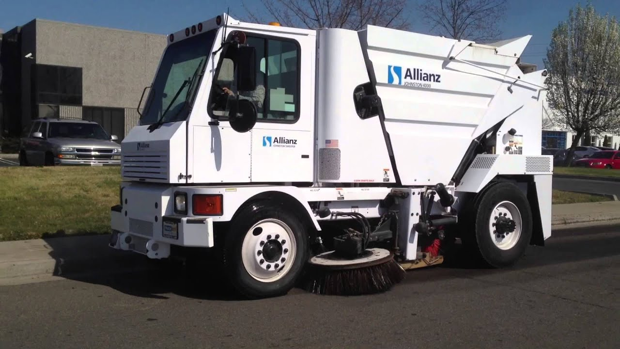 2007 Allianz Johnston 4000 Street Sweeper For Sale Youtube