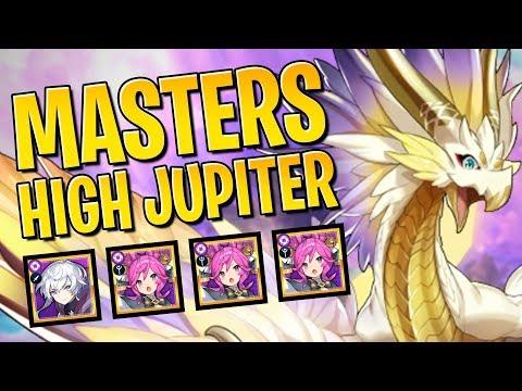 Masters High Jupiter: Delphi & 3x Gleo Team + Gleo's Rotations | Dragalia Lost Guide