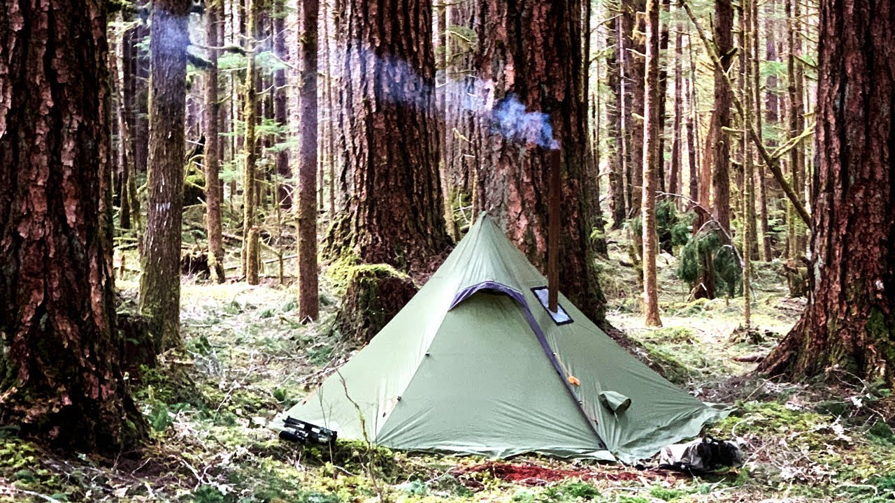 more photos 57e73 37187 Hexpeak XL Tipi (3P) with Hot Tent Options – Luxe Hiking Gear
