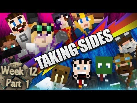 Minecraft Cornerstone - Taking Sides (Week 12 Part 1)