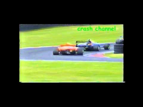 Formula Palmer Audi Victor Jensen Crash Oulton Park 2004